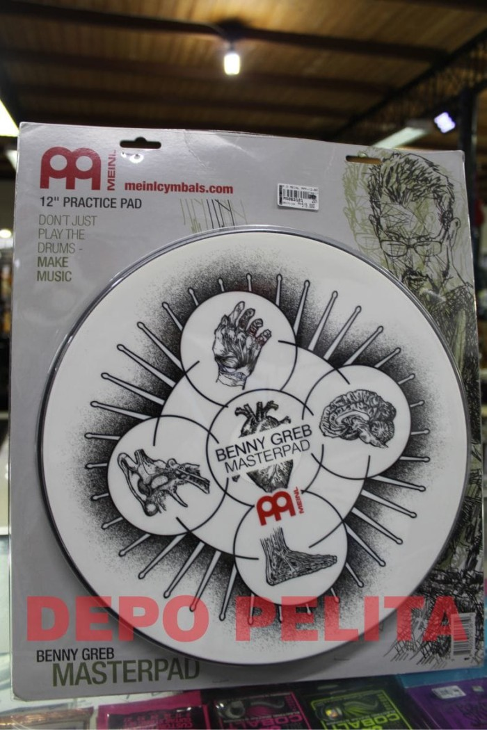harga Meinl mpp-12-bg practice pad benny greb 12 inch / pad drum Tokopedia.com