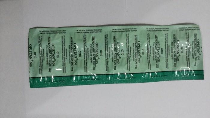 harga Special Opistan tablet asam mefenamat 500 mg Tokopedia.com
