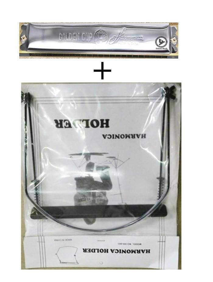 harga Harmonica / harmonika 24 hole nada f + holder Tokopedia.com