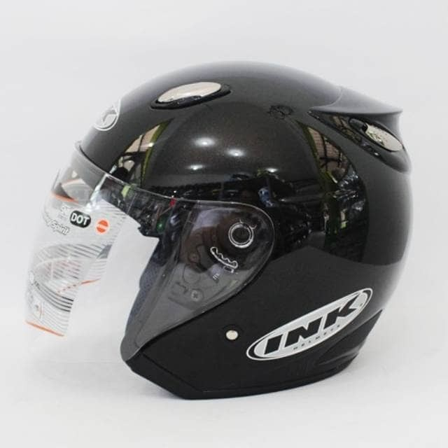 Promo mumer ber kualitas helm best ink centro hitam diskon