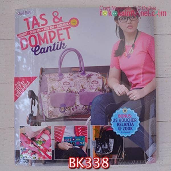 harga Bk338 buku kerajinan judul  tas dan dompet cantik  by umi fidh Tokopedia.com