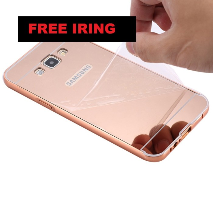 Case Mirror Samsung Galaxy J5 2016 J510 Alumunium Bumper Gundam Spigen