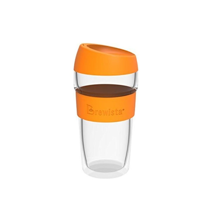 harga Brewista - double wall travel mug 450ml orange Tokopedia.com