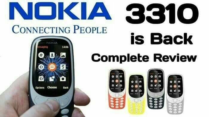 harga Hp nokia 3310 baru 2017 Tokopedia.com