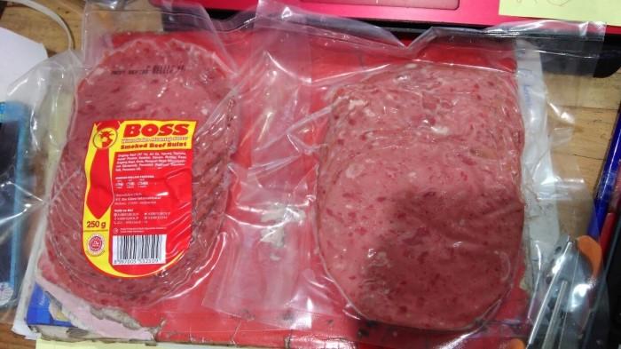harga Smoked beef bulat boss kibif 250gr Tokopedia.com