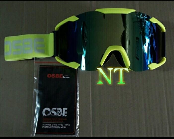 harga Goggle cross osbe lensa pelangi  anti embun bukan kaca helm ltd Tokopedia.com