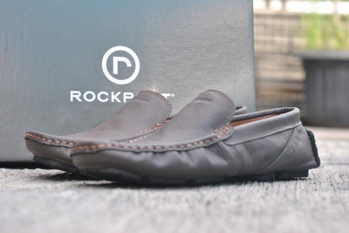 Sepatu casual rockport full kulit asli brown be2b83ea7f