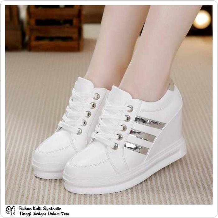 Jual Md 08 Sepatu Wedges Sepatu Hak Tinggi Sepatu Adidas
