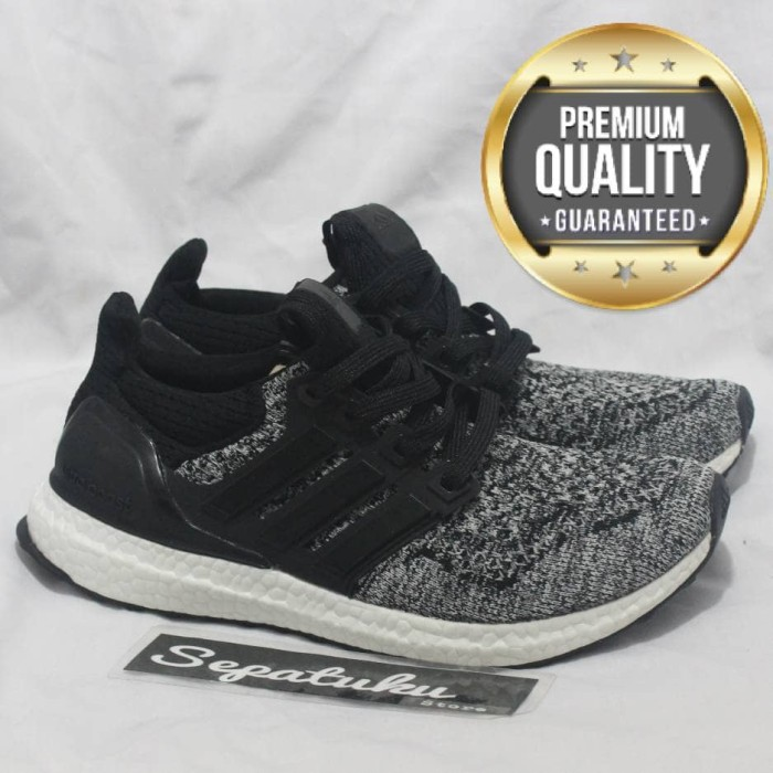 2d730ae7b40f2 harga Sepatu adidas ultraboost x reigning champ black white -premium quality