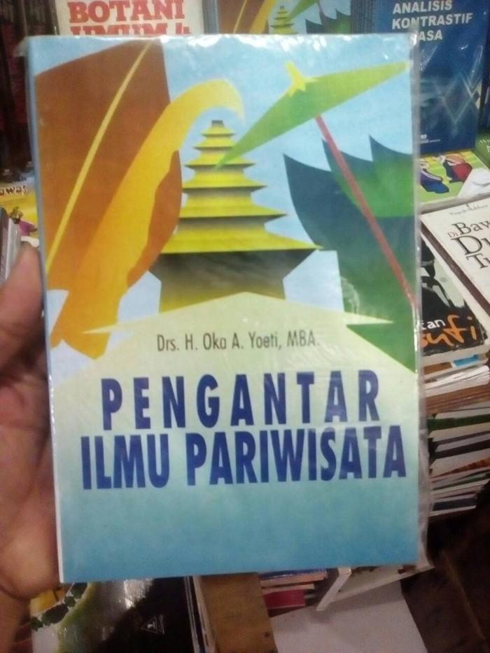 harga Pengantar ilmu pariwisata - oka a yoeti - angkasa - buku Tokopedia.com