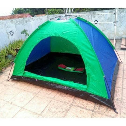 harga Tenda camping warna kapasitas 3 orang tenda gunung dome outdoor Tokopedia.com