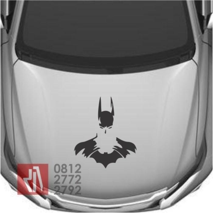 harga Cutting stiker mobil batman siluet sticker 60cm kap mesin keren 01 Tokopedia.com
