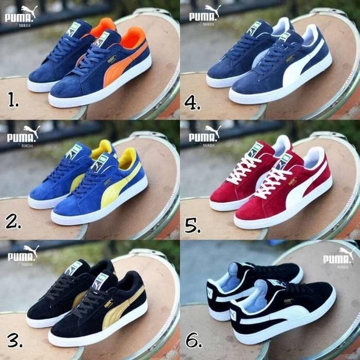 Sepatu casual sport puma suede harga Sepatu casual sport puma suede  Tokopedia.com cf933fa4a4