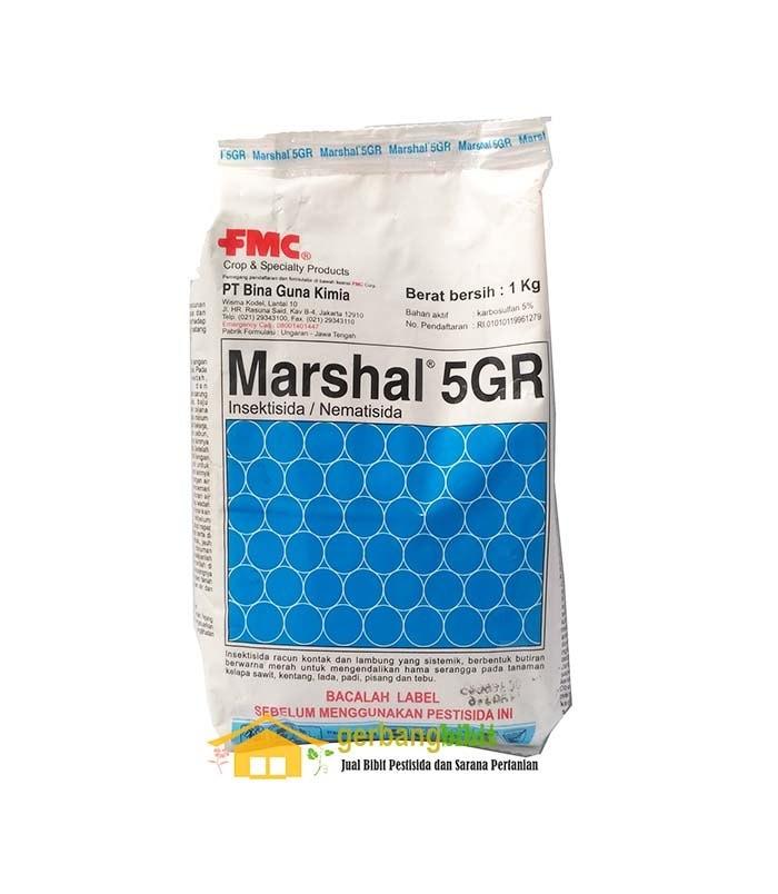 Foto Produk Insektisida Sistemik Nematisida Marshal 5GR Untuk Ulat dari Purotani