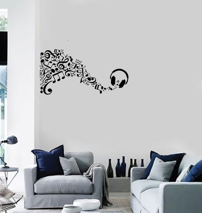 harga Wall stiker dinding kaca headphone musik studio kafe resto sticker Tokopedia.com
