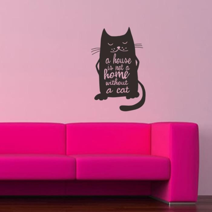 harga Wall stiker dinding kaca cat kucing lates rumah kamar sticker Tokopedia.com