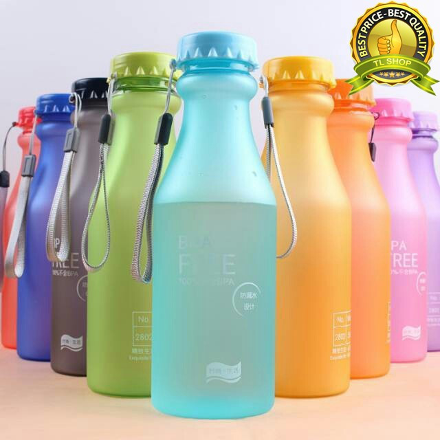 Foto Produk MY BOTTLE BPA FREE DOFF COLORFULL BOTTLE 500ML-TLSHOP dari TL Globalindo