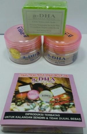 Paket cream adha pink / hijau ...