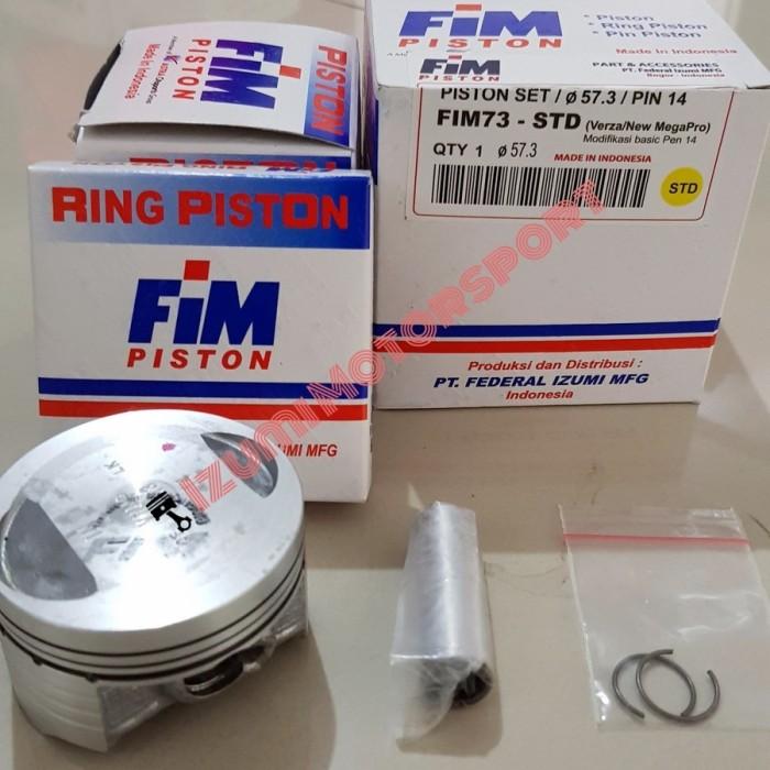 harga Piston kit fim izumi fim73 honda new megapro dan verza versa Tokopedia.com
