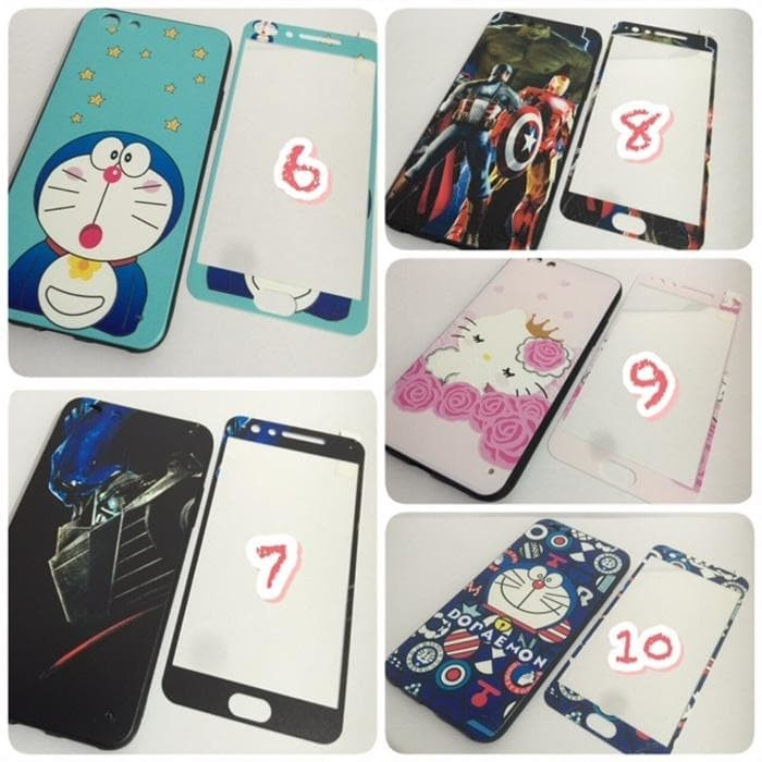 Casesoftcase Karakter Samsung J1 Ace Free Tempered Glass Karakter Source · SOFT CASE KARAKTER 4D 360