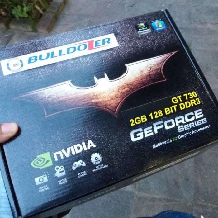 Foto Produk VGA CARD BULLDOZER NVIDIA GEFORCE GT730 2GB 128BIT / GARANSI 1 TAHUN dari Tiesnowe