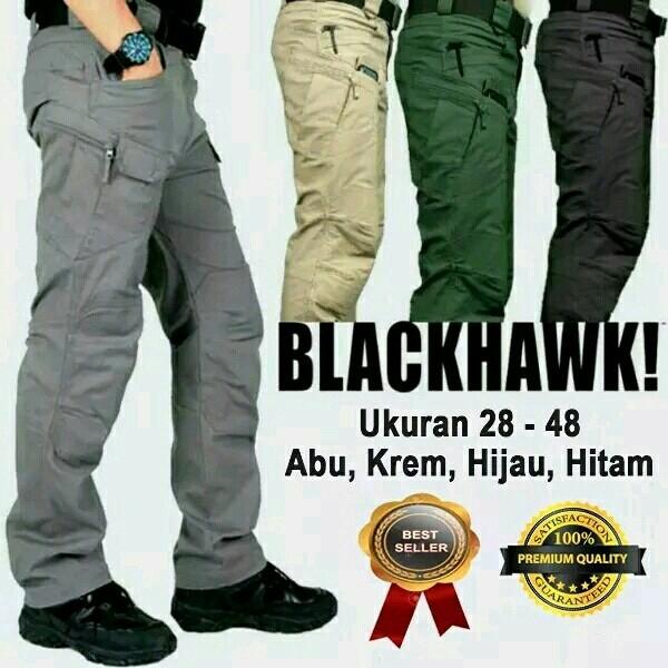harga Celana cargo pdl tactical warna hitam blackhawk celana outdoor Tokopedia.com