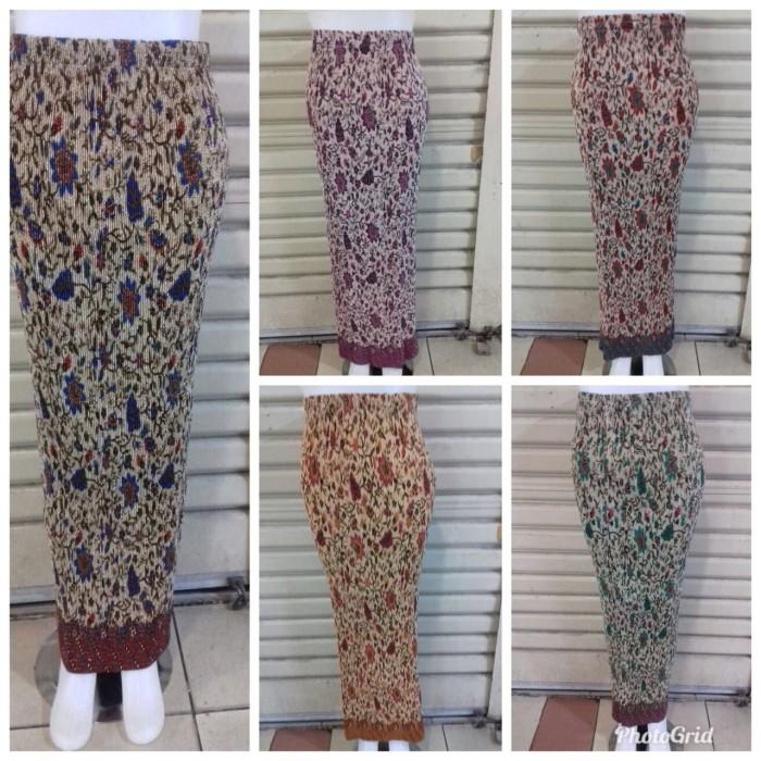 SB Collection Rok Jumbo Laurinda Maxi Plisket Batik Wanita