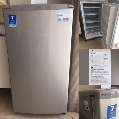 harga Aqua aqf-s4(s) kulkas freezer asi berdiri 4 rak aqf-s4 sanyo aqfs4 Tokopedia.com