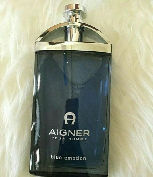 harga Parfum orginal aigner blue emotion for men 100ml Tokopedia.com