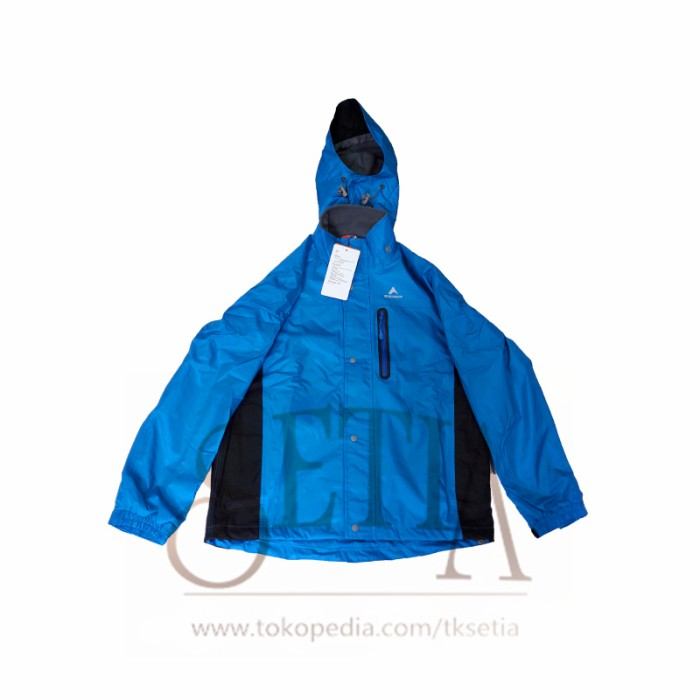 JAKET EIGER J341 08A BLUE - JAKET OUTDOOR HIKING