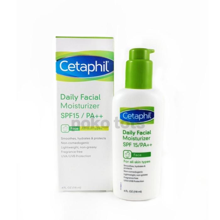 Cetaphil Daily Facial Moisturizer SPF 15 UVA Sunblock Sunscreen 118 ml