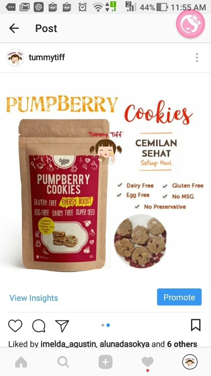 harga Ladang lima pumpberry cookies Tokopedia.com