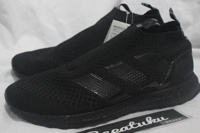 best service 08ac0 aaca3 Jual Sepatu Adidas Ultra Boost /Ultraboost Ace 16 Pure Control Triple Black  - Jakarta Selatan - Sepatuku Store | Tokopedia