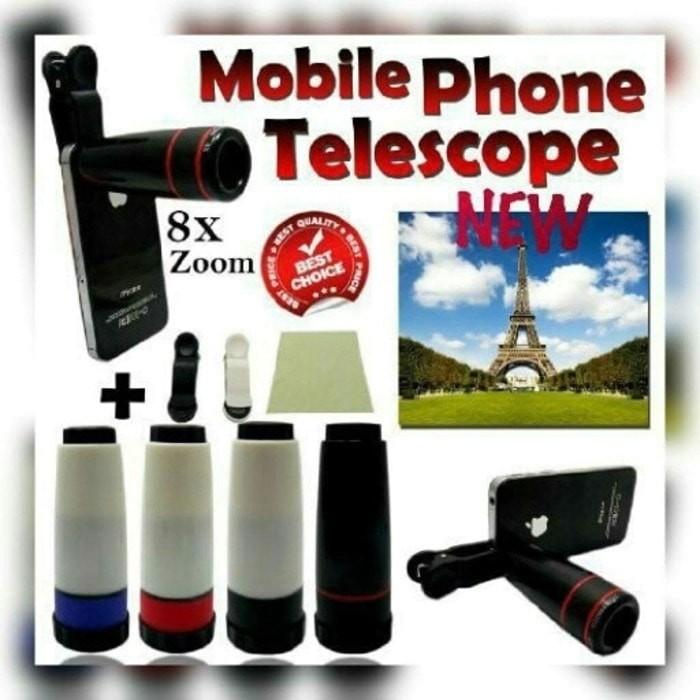 harga Mobile phone telescope lens 8x zoom lensa kamera teropong hp Tokopedia.com