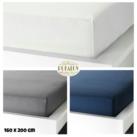 Ikea ullvide seprai berkaret 160x200 cm