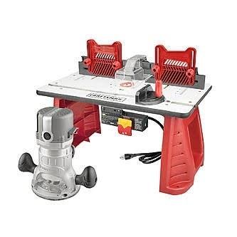 Jual Meja Router Table Craftsman Combo 1 3 4 Shaper Miter Set