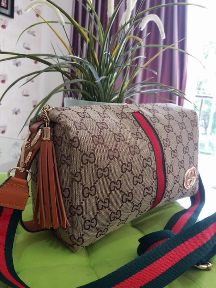 Harga Terbaru Tas Selempang Gucci Sling Bag Tas Wanita Import Tas ... e22faabe20