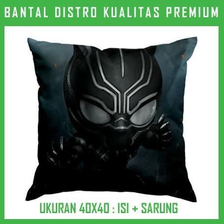 Bantal Black Panther 8 BLPT08 Bantal Sofa/Mobil