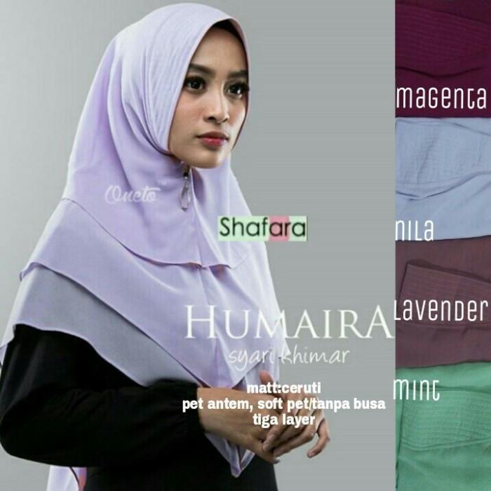 Jual Khimar Humaira Syari Polos Jilbab Instan High Quality Hijab Syar I Kota Surakarta Klamben Tokopedia