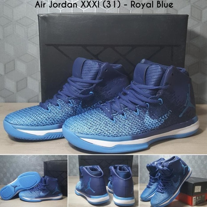 best sneakers 7f69d dcd57 Jual Highquality!!! Sepatu Basket Air Jordan 31 Xxxi - Royal Blue Termurah  - DKI Jakarta - sportszone | Tokopedia