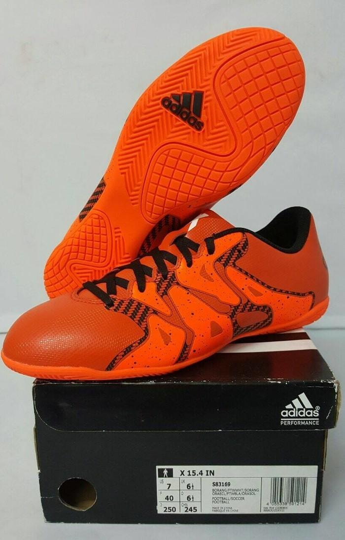 f88f3c7910 Jual Original Adidas X 15.4 IN S83169 Sepatu Bola   Futsal ...