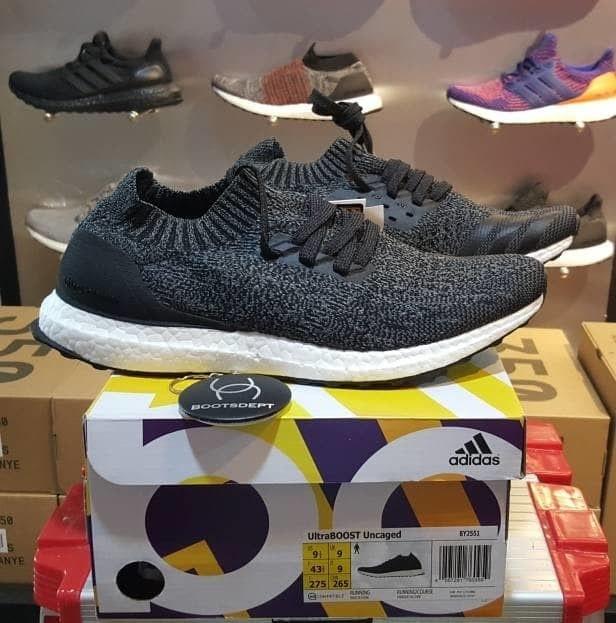 best service 8d82a 254fd Adidas Ultra Boost Uncaged - Black Wool