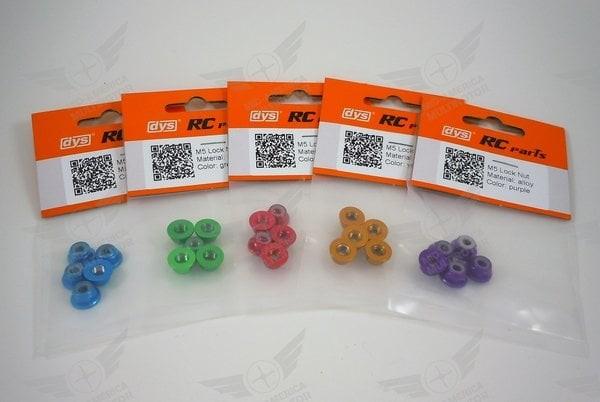Foto Produk DYS RC alloy M5 lock nut propeller lock nut CW thread 5Pcs/Set dari IndoWebstorecom