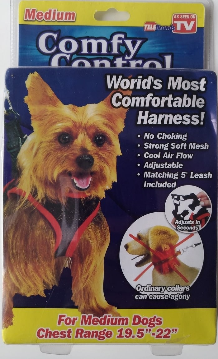 harga Tali leher anjing - new comfy control harness medium - 19.5 - 22 inch Tokopedia.com