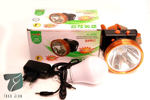 harga Senter kepala sunpro 10w sinar putih sl909a Tokopedia.com