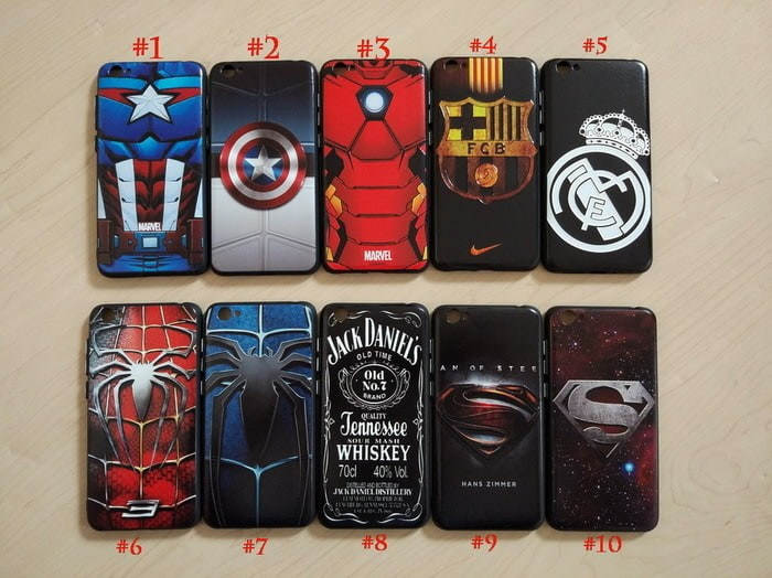 Vivo Y53 Case Superhero Avenger Spiderman Madrid Soft Silicone Casing