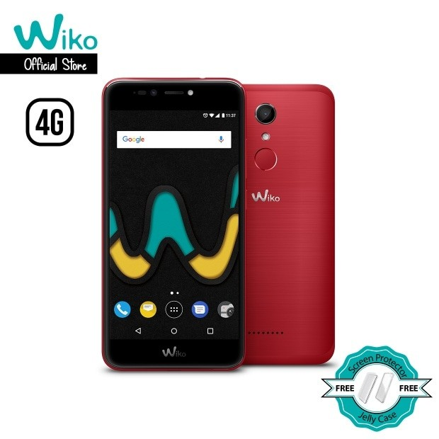 harga Wiko upulse cherry red - 3gb/32gb - cam 13mp+8mp - 4g lte - merah Tokopedia.com