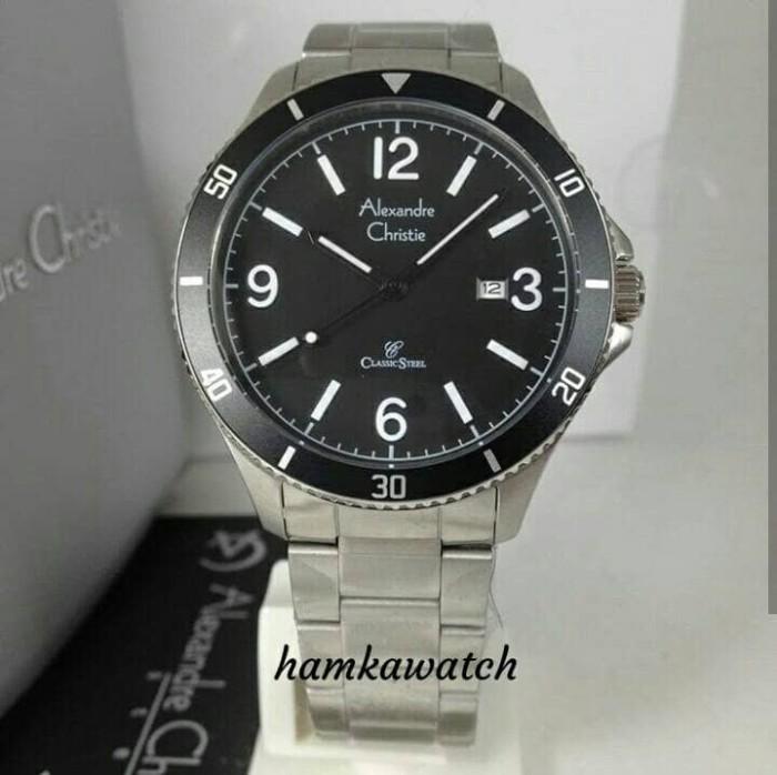 harga Jam tangan pria alexandre christie original ac5011 silver Tokopedia.com