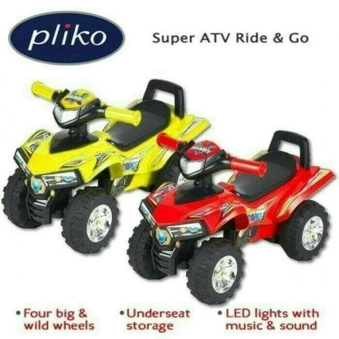 harga Mainan anak motor pliko ride on 551 atv Tokopedia.com