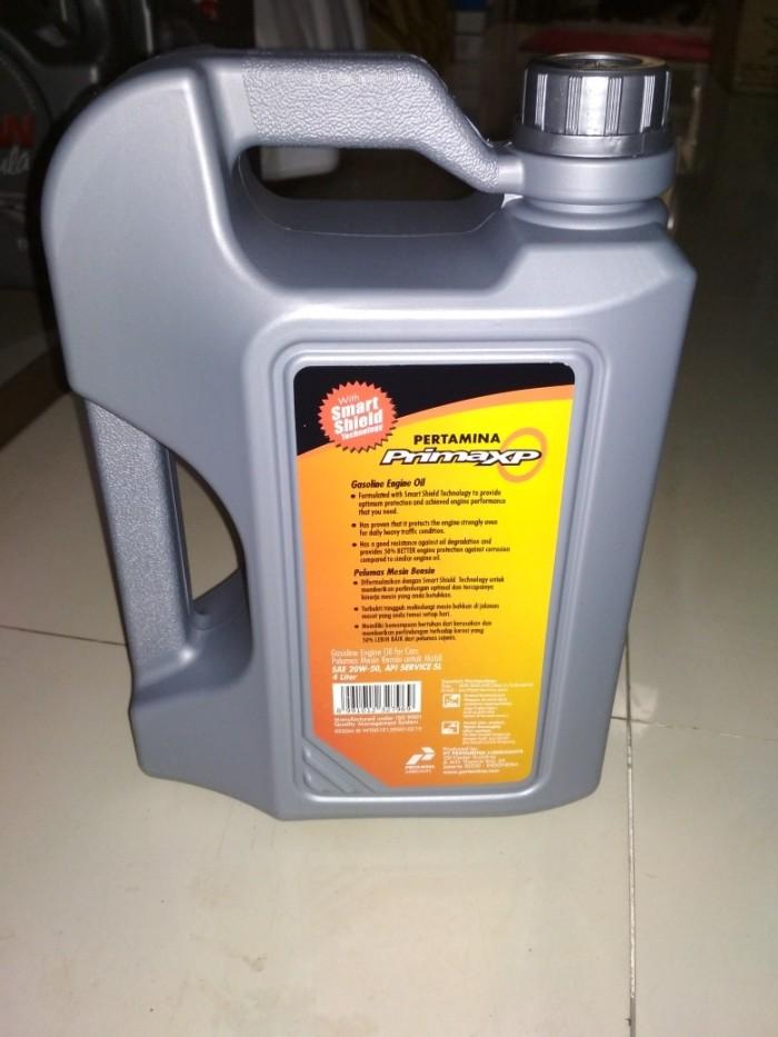 Oli Pertamina Prima XP SAE 20W-50 API SERVICE SL 4 Liter Original